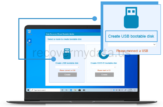 Bootable USB Data Recovery