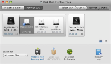 Recover Deleted Photo on Mac OS X