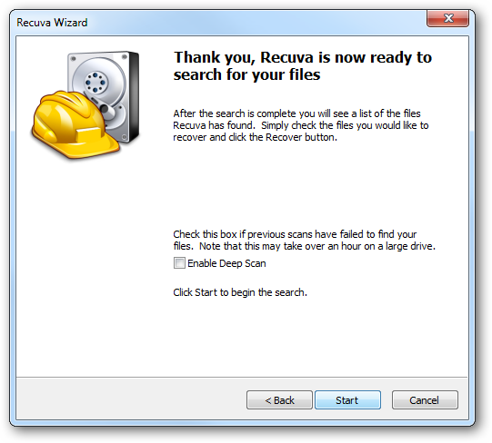 How Long Does Recuva Take To Recover Files