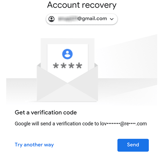 how to perform email account recovery