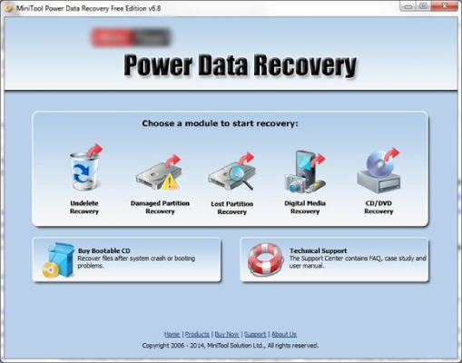 Hard Drive Recovery with MiniTool