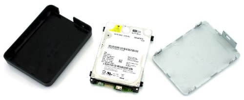 OPEN WD HARD DRIVE PASSPORT
