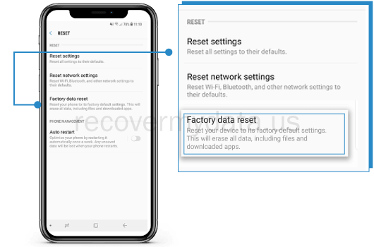 Recover Data After Factory Reset