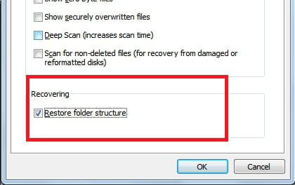 Recover Files from a Folder with Recuva