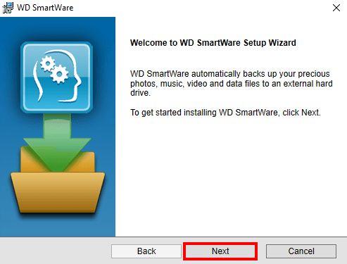 wd SmartWare installer for windows